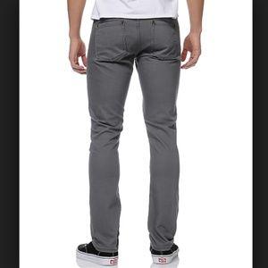 RVCA Jeans - RVCA Spanky Denim Slim Fit Gray Jeans Size 30 X 31